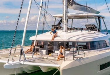 Be first to charter 1 of 3 new Med sailing cats