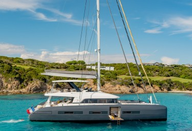 Charter BABAC, the first Lagoon Seventy7 sailing catamaran