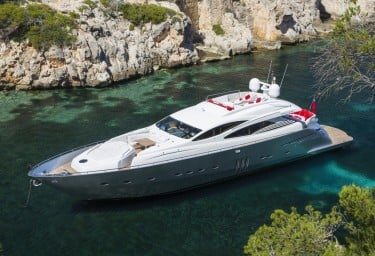 Charter discounted TIGER LILY OF LONDON in Ibiza