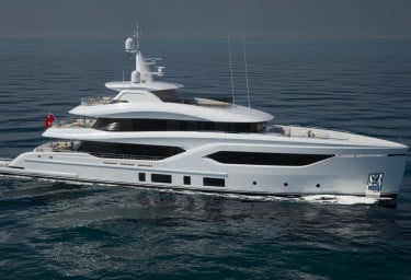 New Conrad C144S Motor Yacht Under Construction