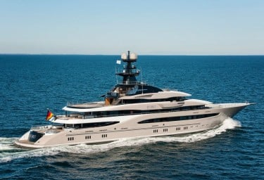 Coveted Mega Yacht KISMET is breathtaking