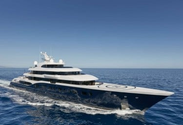Luxury Mega Yacht SYMPHONY showcases excellence.