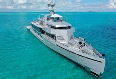 BOLD Mega Charter Motor Yacht in the Maldives