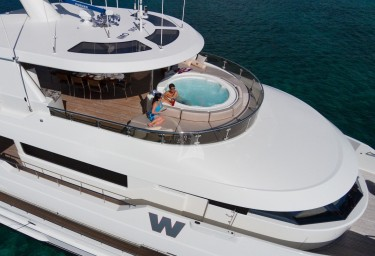 Our pick of the best jacuzzis on charter yachts