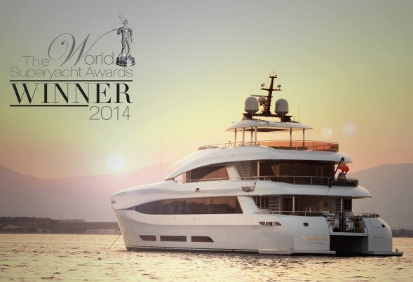 Quaranta is an award-winning power catamaran