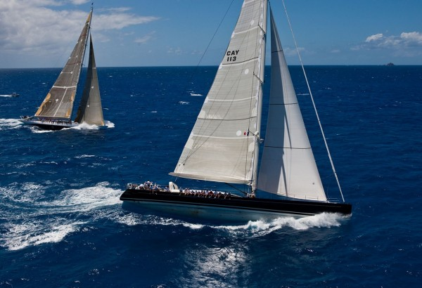 Perini Navi P2 sailing designed by Philippe Briand