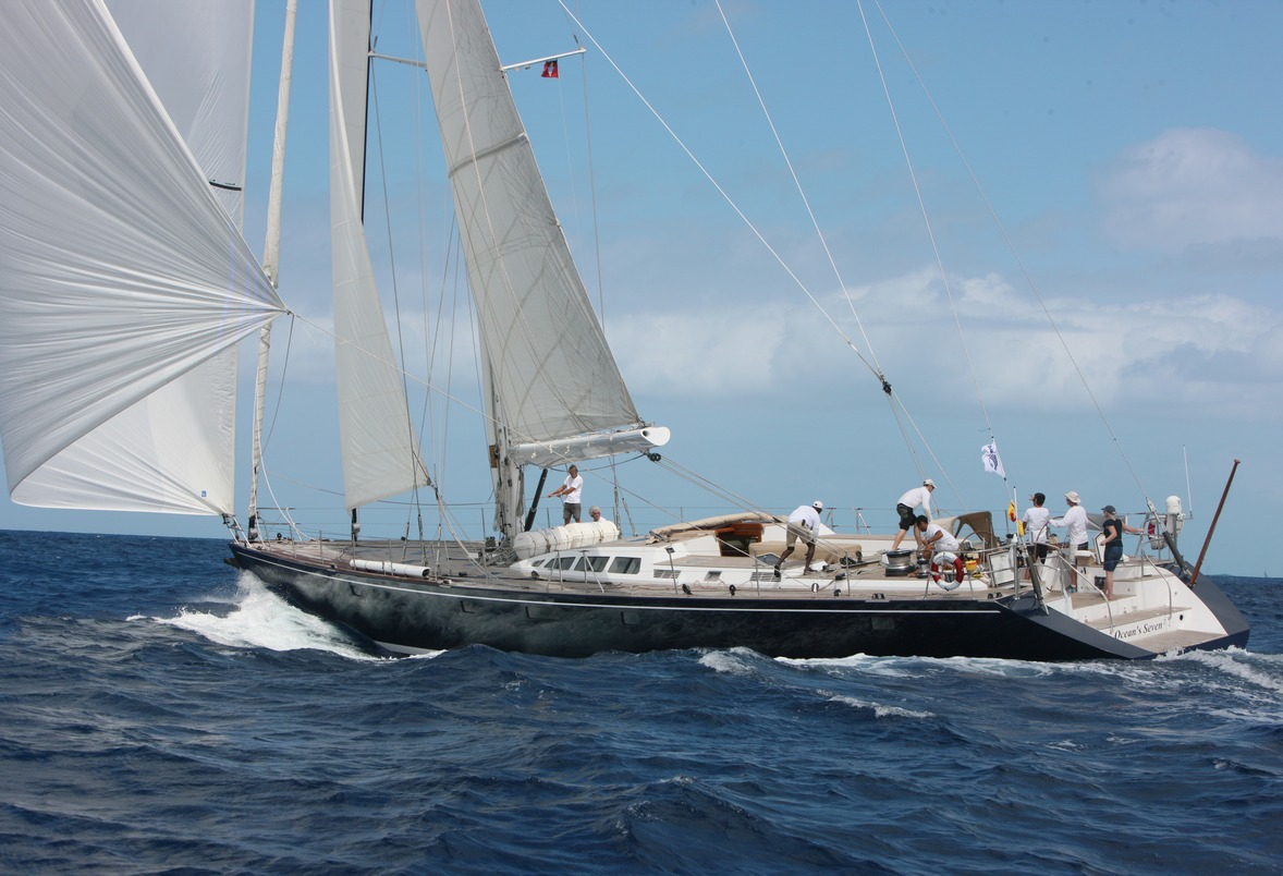 Luxury Charter Sailing Yacht OCEANS SEVEN2