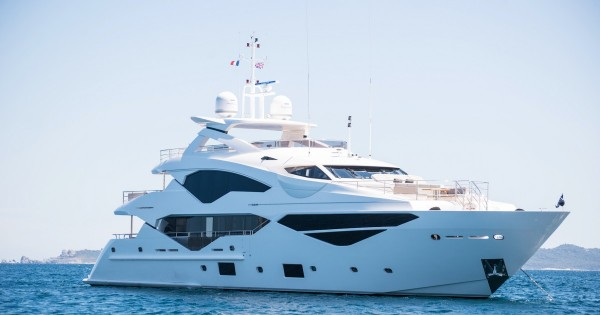 AQUA LIBRA 131 (40m) Sunseeker is ready for your luxury yachting vacation in the Greek islands, are you?*