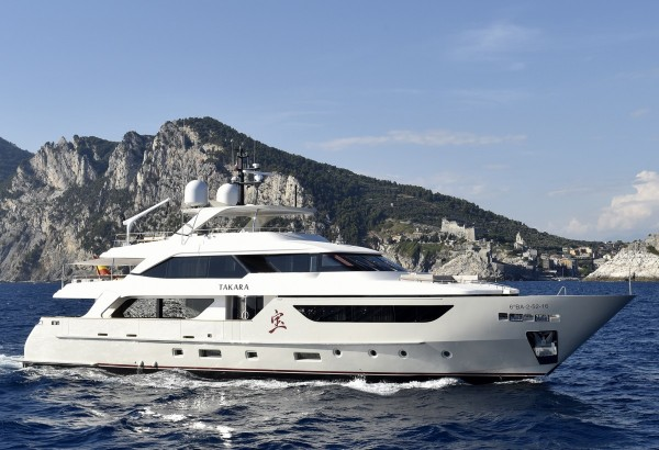 TAKARA: Special Rate for Last Minute 5 Day Luxury Charter in the Balearics*