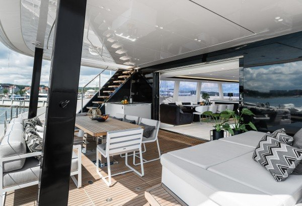 ABOVE: Available for your Luxury Yacht Charter in the Caribbean this Winter*