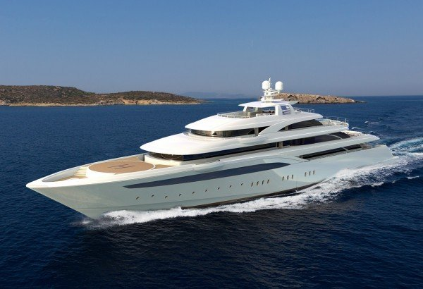 O'PTASIA: Stunning Superyacht For Mediterranean and Red Sea Luxury Charters*
