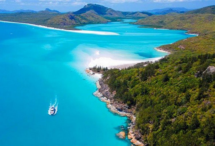 The Whitsundays and Great Barrier Reef