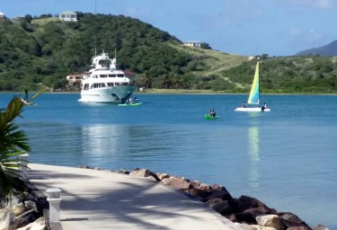 Anchored in Antigua