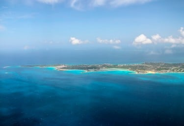 Aerial View of Anguilla
