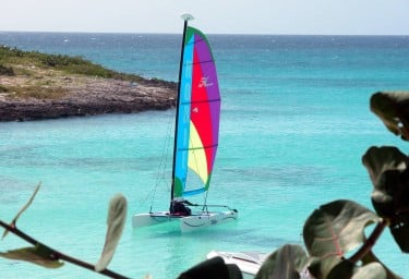 Anguilla on charter water sports