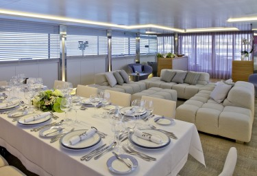 BARENTS SEA Saloon with Formal Dining