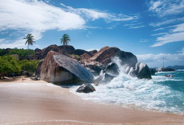 LEEWARD ISLANDS Baths Beach, Virgin Gorda