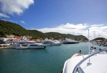 Charter Yacht BROADWATER in Gustavia Harbour, St Barts