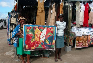 LEEWARD ISLANDS Caribbean market