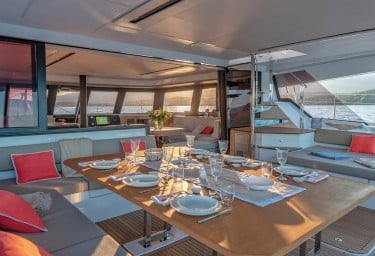 NUMBER ONE Aft Deck Dining