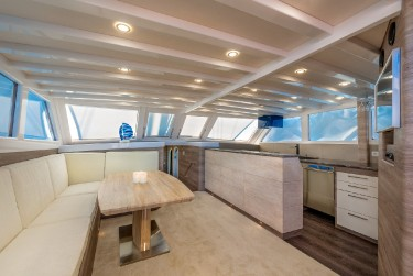 ANDJEO Saloon and Galley