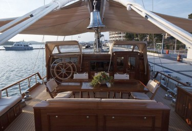 PACHA Aft Deck Looking Forward