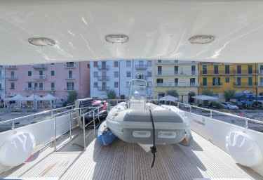 BUGIA Flybridge Looking Aft