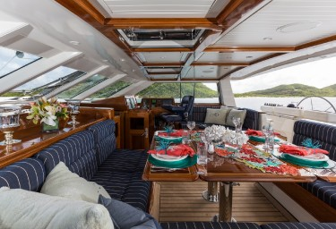 MARAE Cockpit Dining Table & Helm