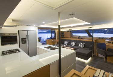 Charter Catamaran NENNE Galley
