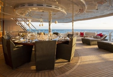 REMEMBER WHEN Aft Deck Dining