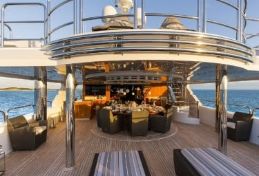 REMEMBER WHEN Aft Deck Looking Forward