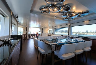 PARADISE Dining Saloon Looking Aft