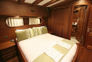 Charter Gulet CANER IV Guest Double Cabin