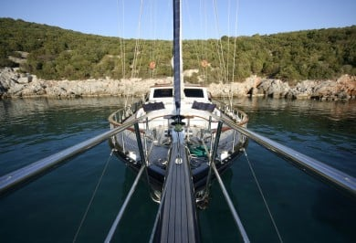Charter Gulet DIDI Foredeck