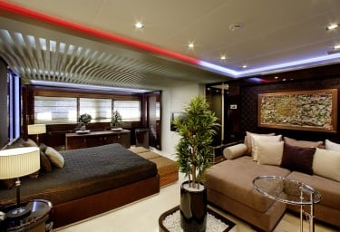 Charter Motor Yacht MY TOY Master Suite