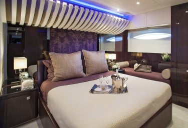 Luxury Charter Motor Yacht MY TOY VIP Cabin