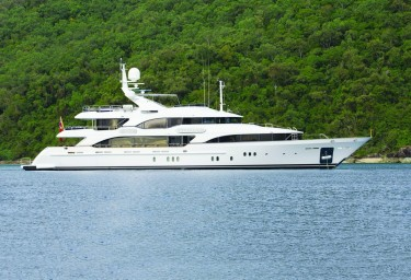 Charter Motor Yacht SOVEREIGN Profile Starboard