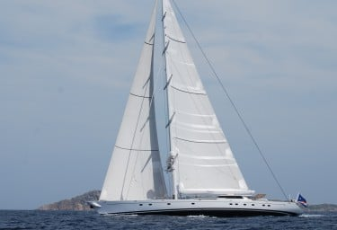Sailing Yacht HYPERION in Sardinia