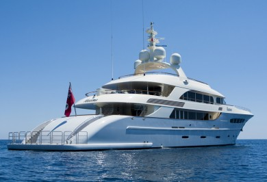 Charter Yacht NASSIMA Aft