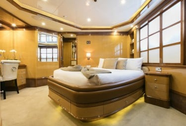 Charter Yacht SOVEREIGN Guest Double Stateroom