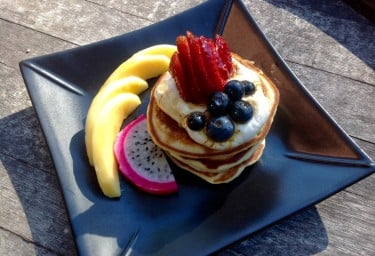 Charter Yacht COSMOS Pancakes for Breakfast