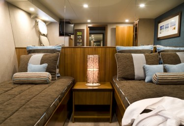 COSMOS Guest Twin Stateroom with Double and Single Bed