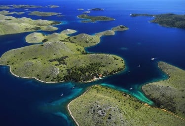 Kornati Islands Popular Charter Cruising Grounds