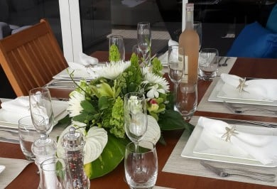 FOXY LADY Table Setting