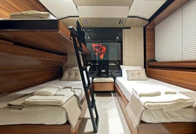 Fusion twin cabin with pullman