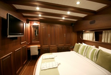 Luxury Gulet CANER IV Guest Double Cabin