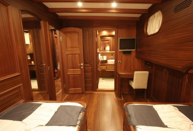 Luxury Charter Gulet CANER IV Guest Twin Cabin