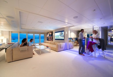 Idol Skylounge Onboard Relaxation and Entertainment