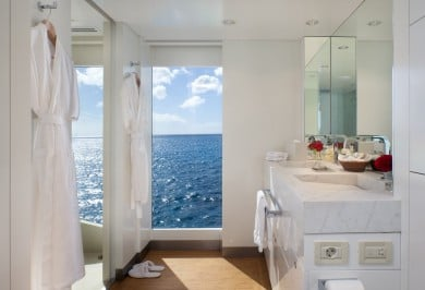 Idol VIP Ensuite Bathroom with Full-size Windows