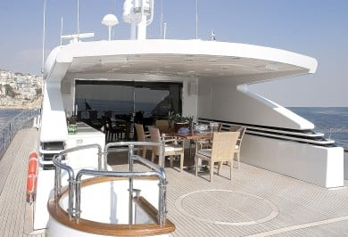 Let it Be Upper Aft Deck Dining